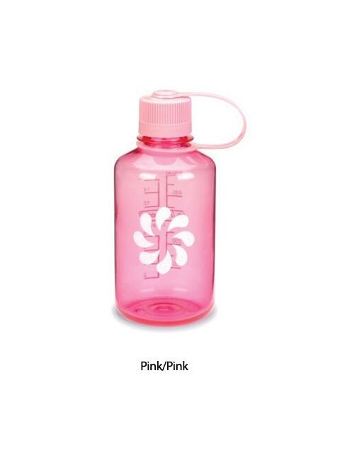 Nalgene 0,5L Narrow Mouth Bottles Pink/Pink (2078-2032)